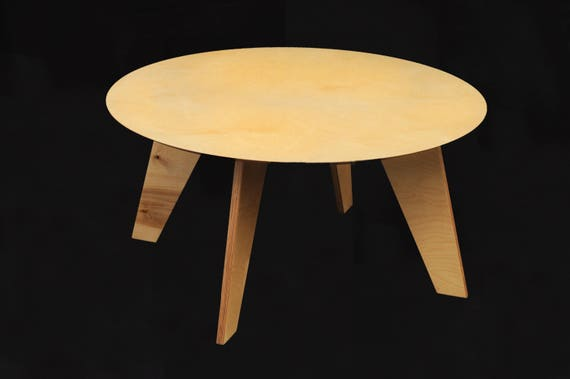 Pleasant Round Table Kids Table Wood Table Childrenstable Plywood Furniture Wood Furniture Machost Co Dining Chair Design Ideas Machostcouk
