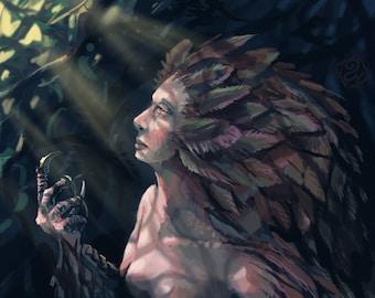 Chien de Zeus (impression)