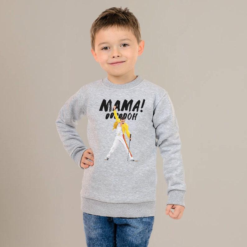 OOOOOOH Quote Tee CP6151 Music Picture Kids Rock Sweatshirt Print Kids Sweatshirt Cotton Made Stuff Nice Gift For Your Kid Mama