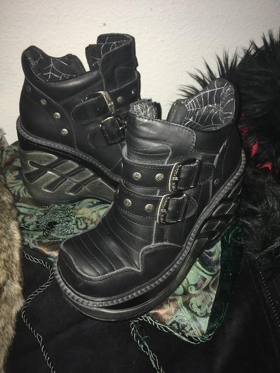 New Rock Boots Cuña Sport platforms size 37 Hallow
