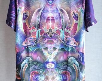 Threyda Sky Diamonds T-Shirt Art By Mugwort