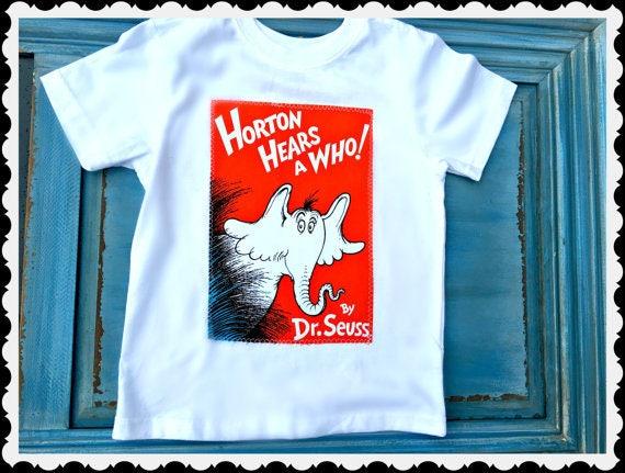 4b0e2e9e3531c Boys Horton Hears a Who dr seuss shirt authorized Robert