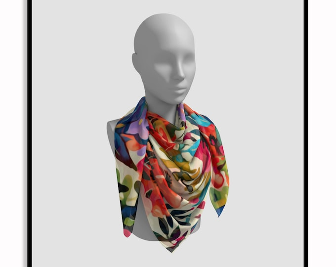 Featured listing image: Boho BLOOMS • Printed Scarf