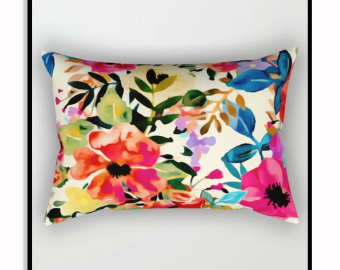 Featured listing image: Boho BLOOMS • Throw Pillow