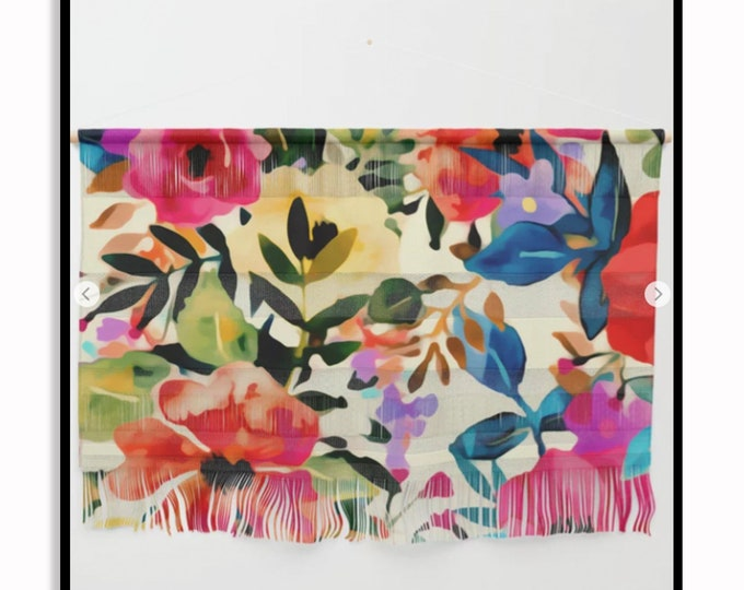 Featured listing image: Boho BLOOMS • Wall Hanging