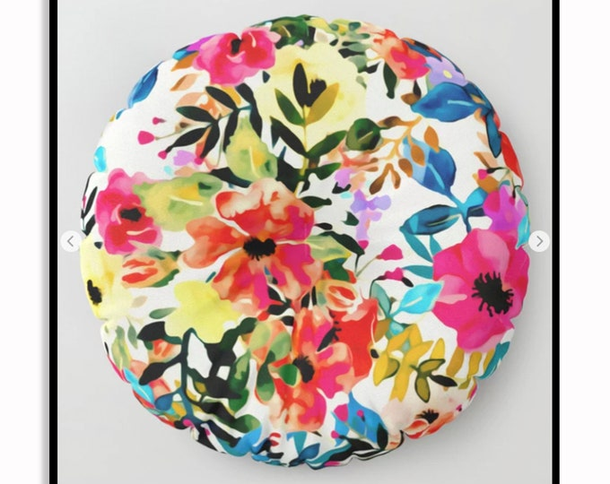 Featured listing image: Boho BLOOMS • Meditation Pillow