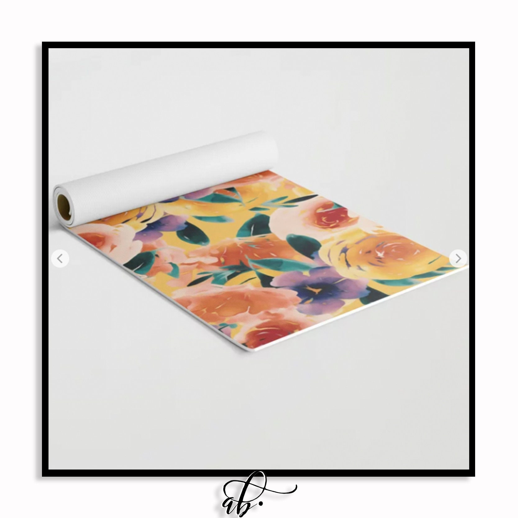 Sorbet BLOOMS • Yoga Mat