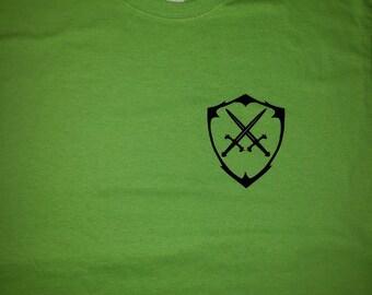 Kingdom Beard Co.T-shirt Neon Green