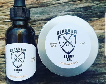 Beard oil and 2oz Beard Balm