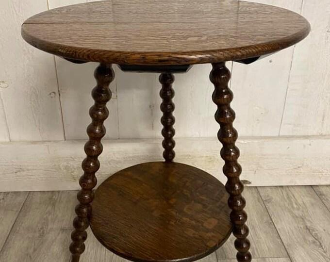 Antique Gypsy Style Cricket Table