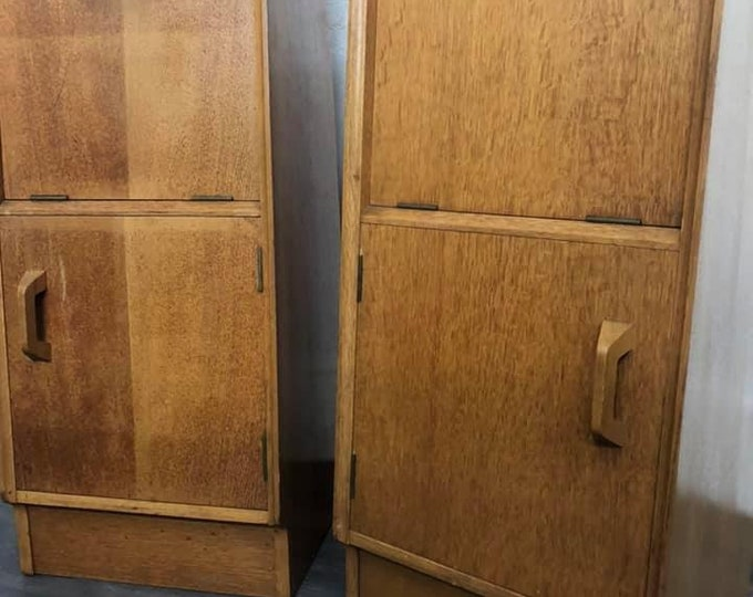 Pair of E Gomme Mid Century Bedside Cabinets