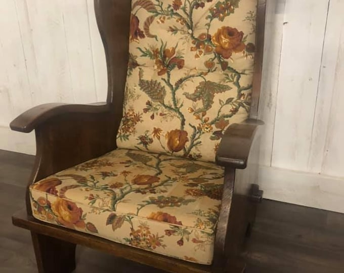 Antique Country House Fireside Chair Armchair