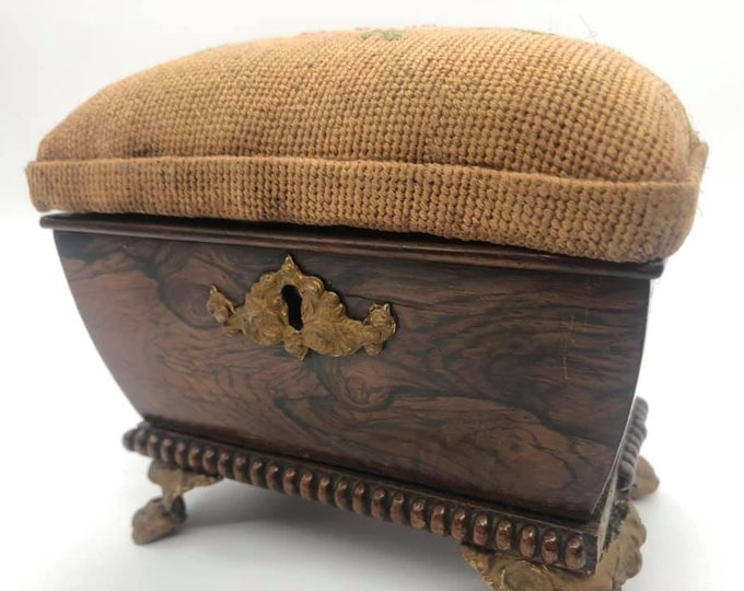 Victorian Rosewood Converted Tea Caddy