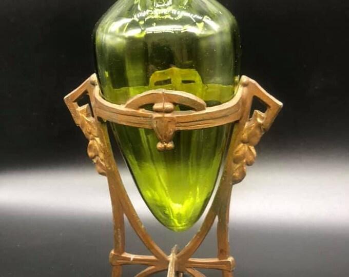 Jugendstil Framed Vase