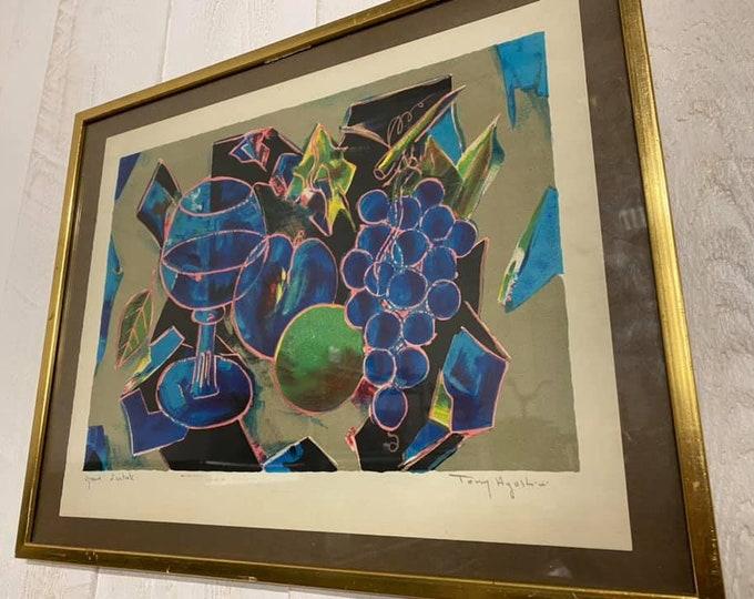Tony Agostini Lithograph