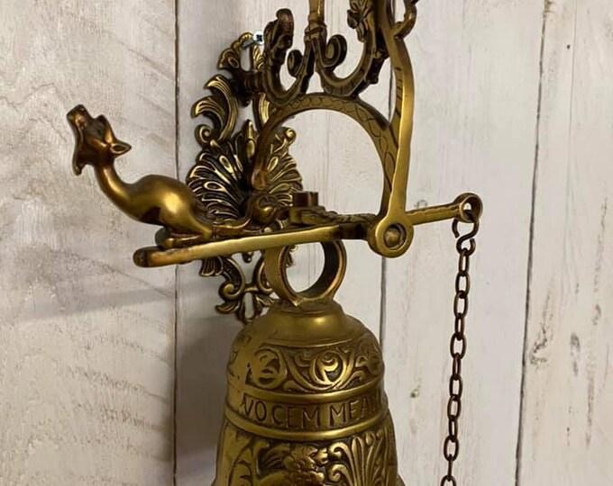 Vintage Brass Door Bell