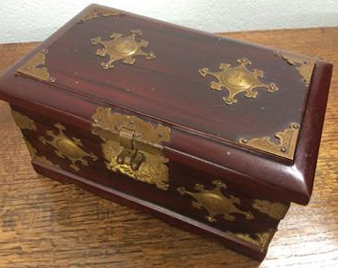 Large Decorative Chinese Jewellery Box