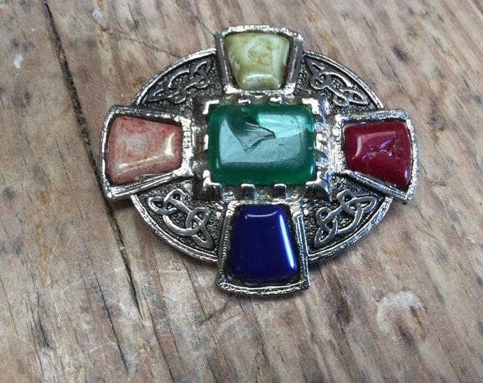 Vintage JEM Brooch Stunning Celtic Design Valentine Mothers Day Gift JO94