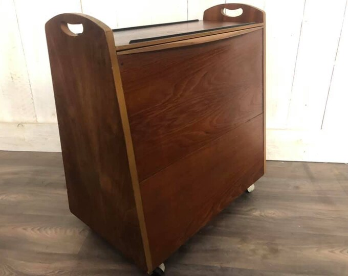 Mid Century Kitch Quirky Cocktail Cabinet