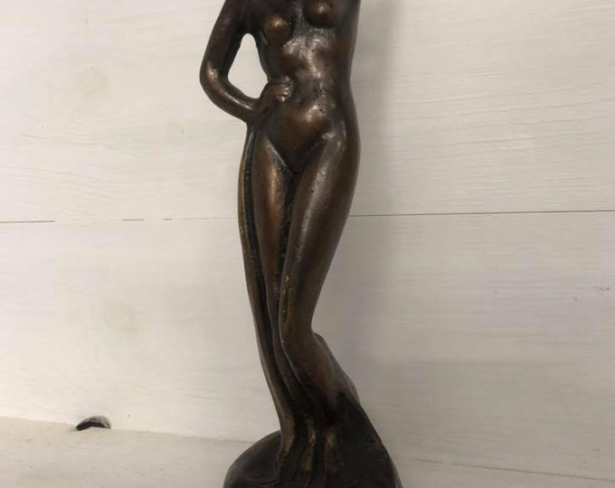 Stunning Art Deco Original Bronze Nude
