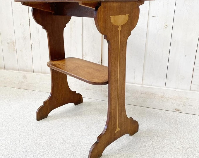 Arts and Craft Movement Side Table Attributed to Liberty and Co
