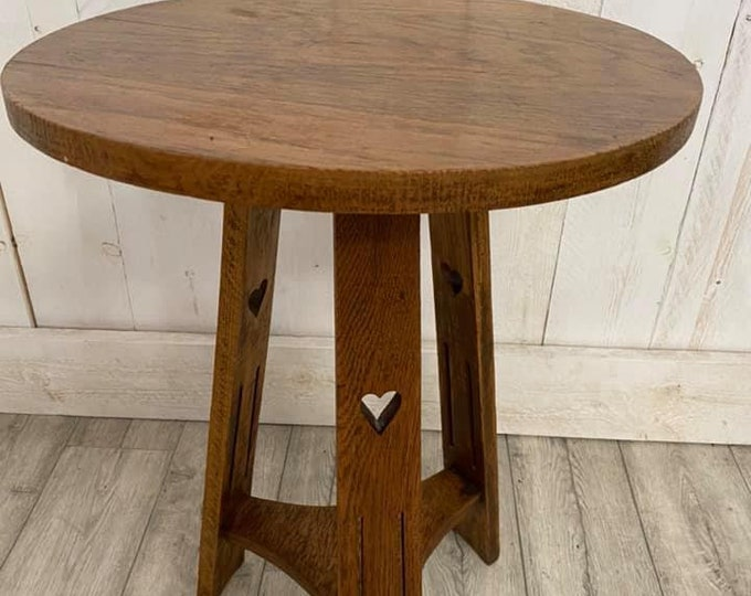 Arts and Crafts Cricket Table