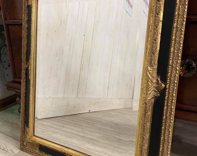 Parcel and Gilt Mirror