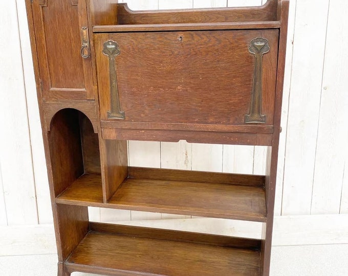 Arts and Crafts Attributed Liberty Bureau Bookcase