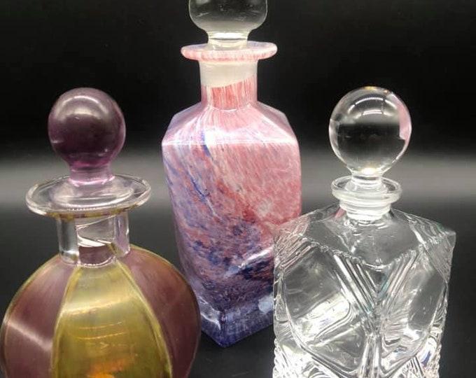 Trio of Vintage Scent Bottles