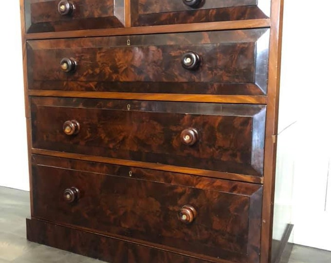 Unusual Victorian Antique Chest of Drawers