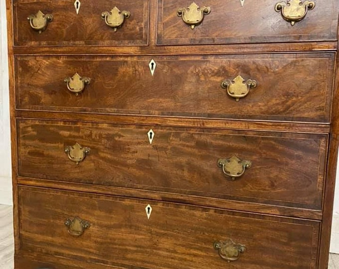 George lll Chest of Drawers