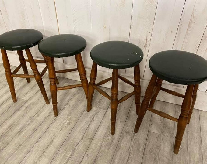 Set of 4 Victorian Stools