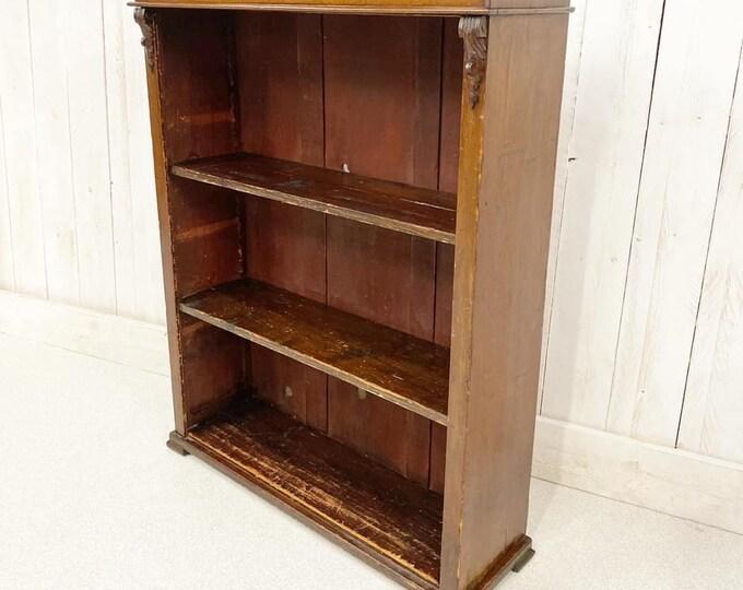 Victorian Open Bookcase
