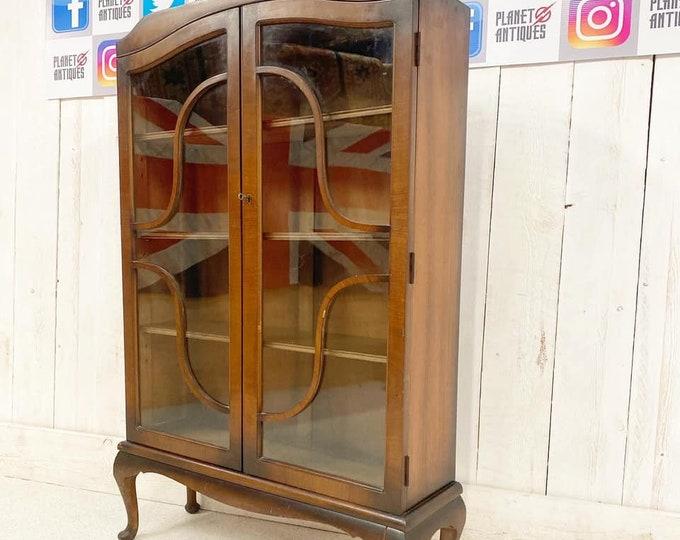 Art Deco Bookcase Gin Cabinet