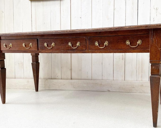 Large Library Country House Desk