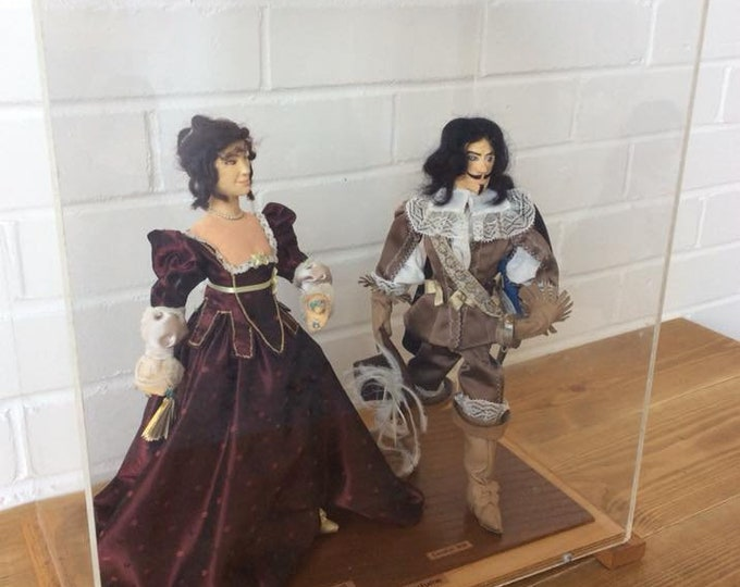Stuart Costume Dolls Diorama Collectable Dolls in Their Own Case