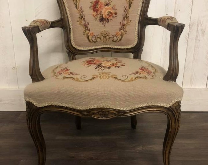 Antique French Elbow Chair C1900