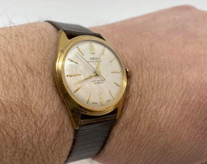 Vintage Oris Gentlemens Wristwatch