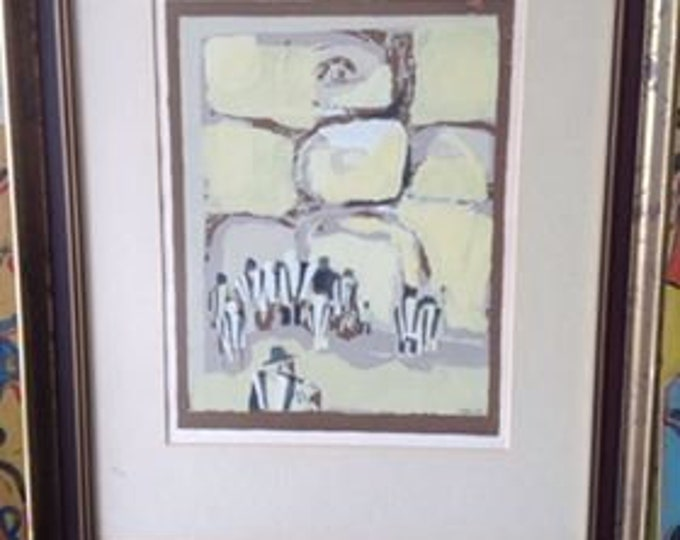 Limited Edition Abstract Print Signed