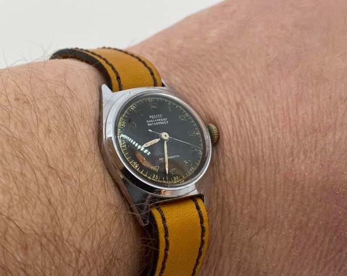 Vintage Reude Military Wristwatch