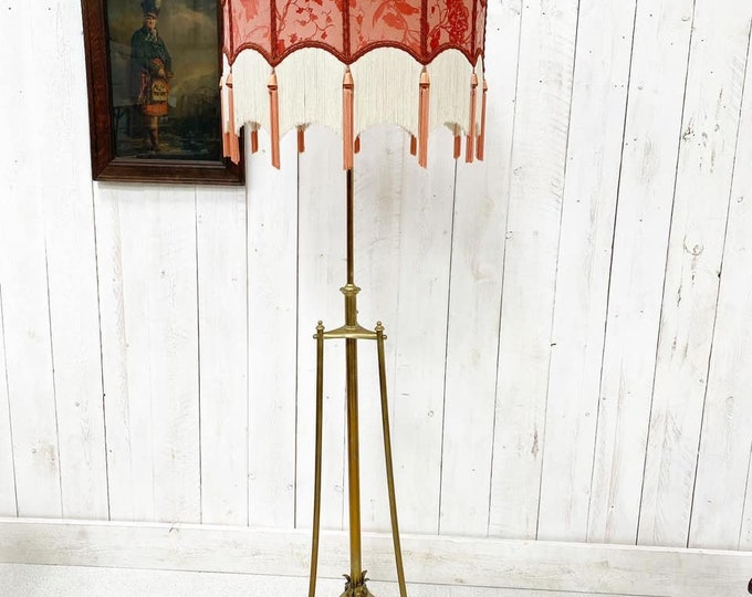 Arts and Crafts Telescopic Lamp