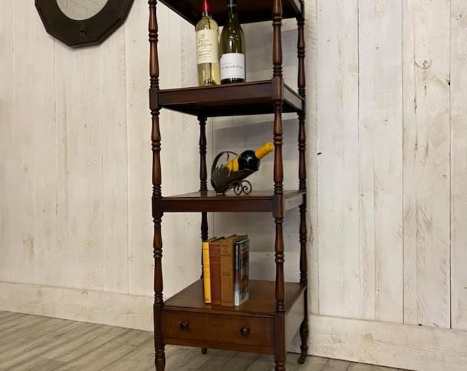 Victorian Four Tier Wotnot Drinks Display Stand