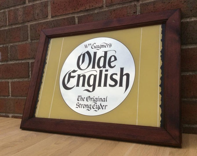 Old English Pub Mirror