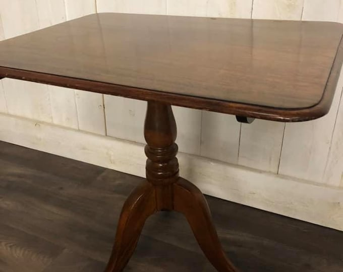 Victorian Tripod Tilt Top Table
