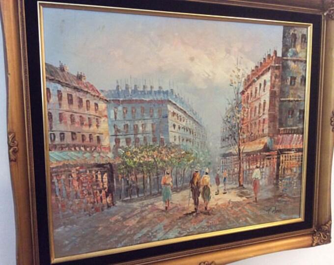 Parisian Scene by T Hess