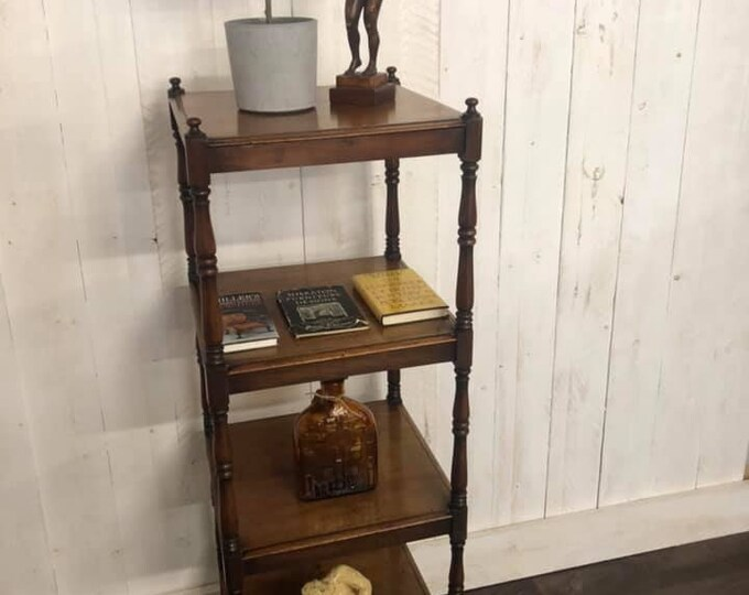 Victorian 4 Tier C1860 Whatnot