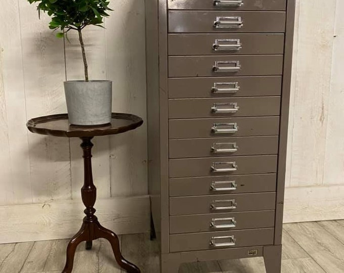 Industrial 15 Drawer Filing Drawers Cabinet