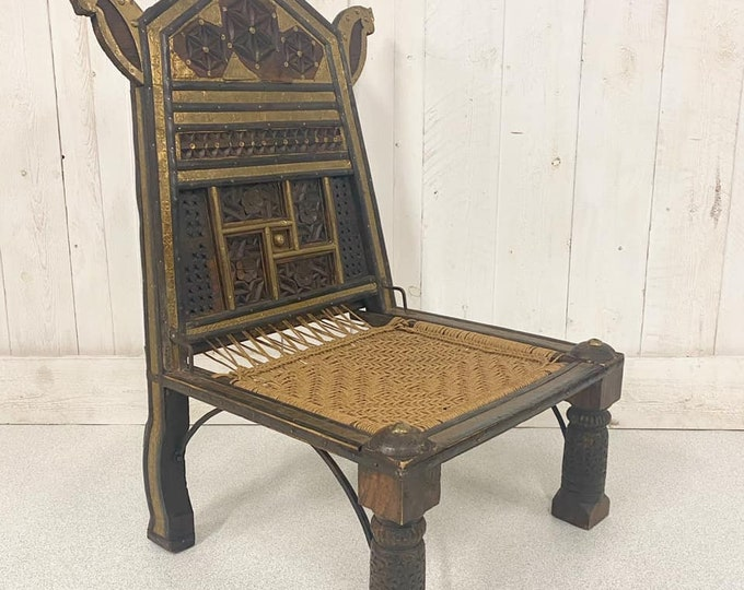 Antique Indian Pida Chair