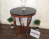 Louis XV Style Guerdon Side Table Marble Top
