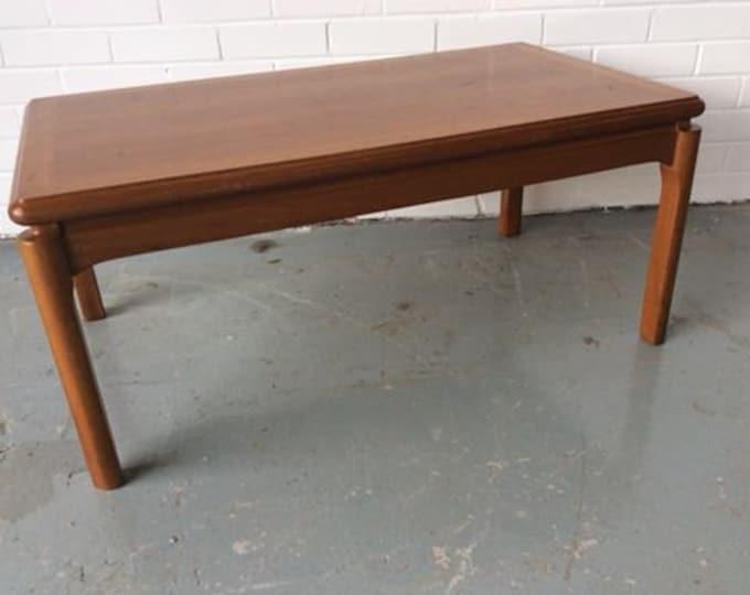Nathan Teak Coffee Table Side Table